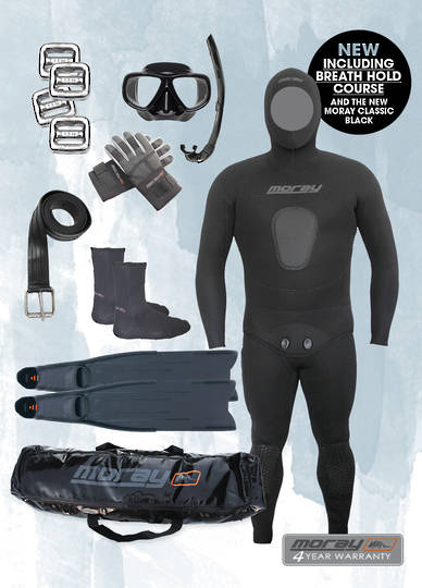 Freediver Package with Course Combo | Black