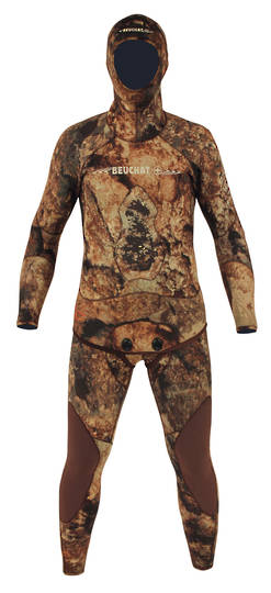 Beuchat Rocksea Camo Competition 7mm Wetsuit