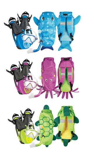 Mares Sea Pals Snorkel Set