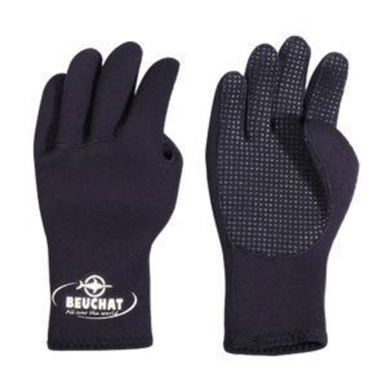 Beuchat 3mm Gloves