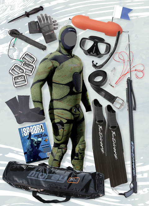 Ultimate Spearfishing Package - CAMO