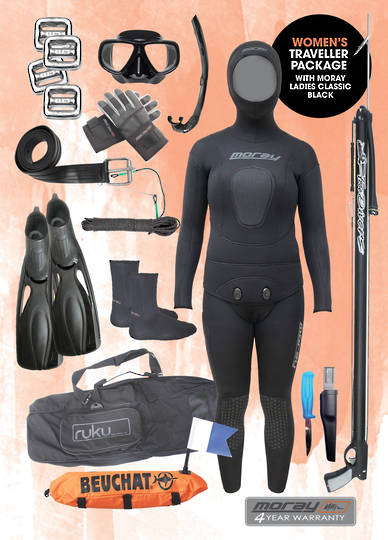 Womens Travellers Package | BLACK