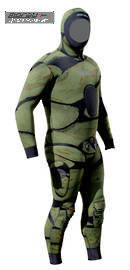 Moray Commando Camo 5mm Wetsuit
