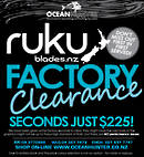 Ruku Seconds Sale
