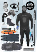 Traveller Spearfishing Package | BLACK