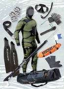 Start-Up Traveller Spearfishing Package  - CAMO