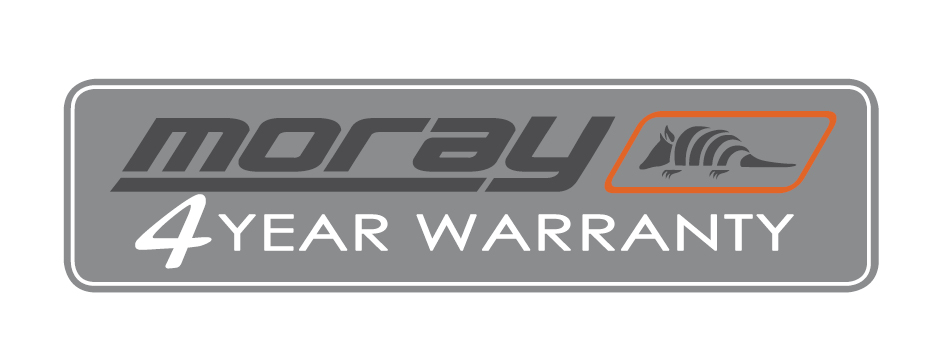 moray warranty logo