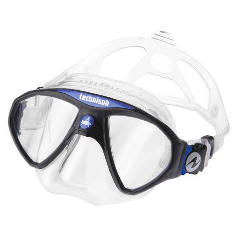 Aqualung Micro Mask Blue / Clear