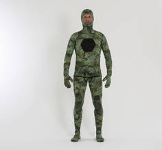 Hec's 5mm Spear Wetsuit Camo