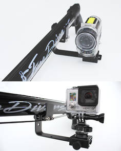 Speargun Camera Mount fits GoPro and Contour Cameras