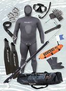Start-Up Traveller Spearfishing Package  - BLACK