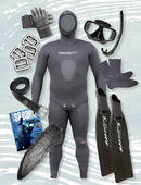 Complete Gathering & Freediving Package - BLACK