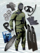Complete Gathering & Freediving Package - CAMO