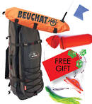 Beuchat Mundial Backpack + Float + Flasher